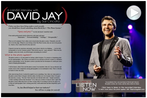 David Jay's Audio Interview