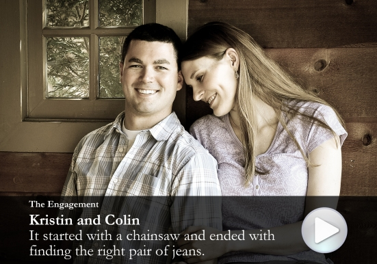 Kristin and Colin engagement photos
